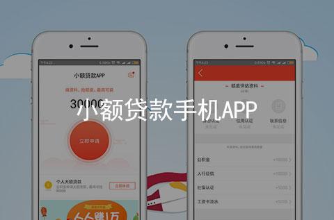 小额贷款手机APP软件_手机APP案例