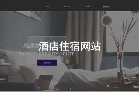 酒店住宿企业网站案例(宾馆旅店行业网站案例)