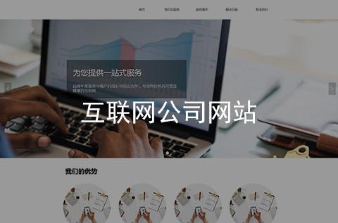 互联网公司网站建设案例_项目案例